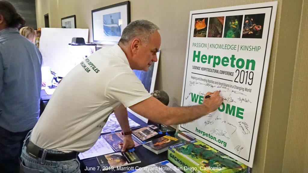 Dmitri Tkachev at Herpeton Conference