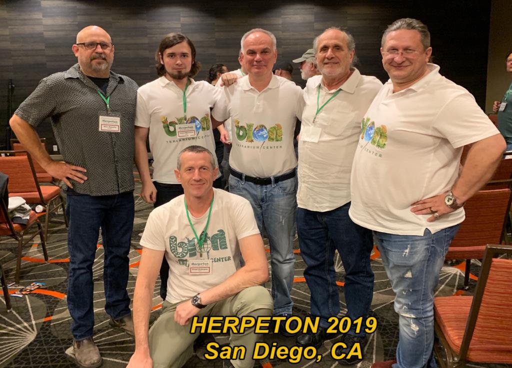 BION Terrarium Center at Herpeton Conference